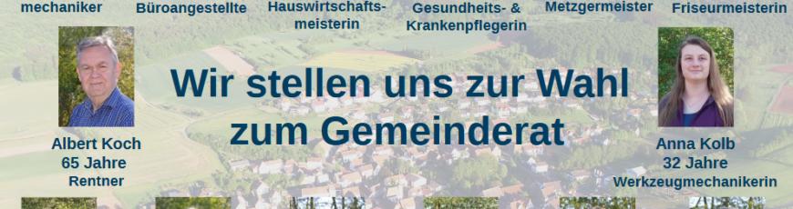 Kommunalwahl 2019 – Vorstellung des Ortsbürgermeister-Kandidaten sowie Informationen zu den Bewerberinnen und Bewerbern um ein Mandat im Ortsgemeinderat