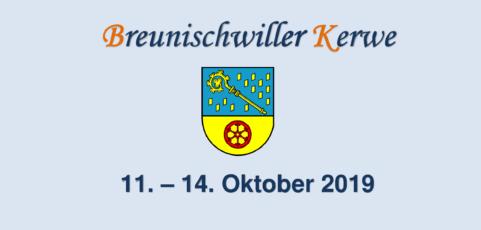Breunischwiller Kerwe 11. – 14. Oktober 2019