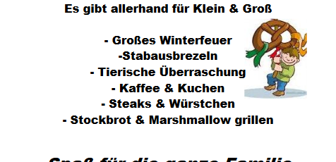 3. Stabausfest in Breunigweiler – am 23.März 2019, ab 15:00 Uhr