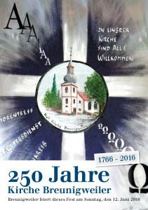 250 Jahre Kirche Breunigweiler